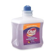 Henkel Dial Complete Refill Cartridge - Plum Scent - 1L - Hypoallergenic, Antimicrobial, Antibacterial - Purple - 1 / Each