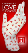 Malcolm's Miracle LOVE Moisture Jamzz Moisturising Gloves - Made in the USA with Biodegradable Packaging!