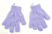 Exfoliating Bath Gloves 1 Pair - Colours May Vary