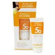 Yanhee Cream Sun Screen For Face Cream SPF 50 PA+++ 30 g. Pack of 2
