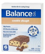 Balance - Nutrition Energy Bar Original Cookie Dough - 6 Bars