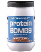 Nutrisport Protein Bombs - 200 Tabs - Chocolate