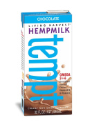 Living Harvest Hempmilk, Chocolate, 950ml Aseptic Containers