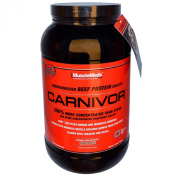 MuscleMeds - Carnivor Bioengineered Beef Protein Isolate Chocolate - 1kg.