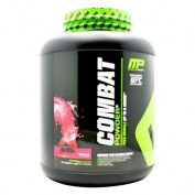 Muscle Pharm Combat Powder Advanced Time Release Protein, Triple Berry, 1.8kg Tub