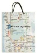 New York Gift Bag - Subway Small, New York Souvenirs, New York City Souvenirs