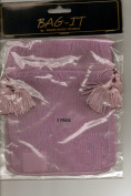 Bag-It 13cm x 18cm Organdy Gift Bag Lavender