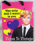 "Barbie and Ken Gift Bag ""The Only Doll I Want Is You"""