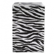 Gift Bags Zebra Print 23cm x15cm
