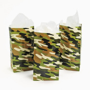 Camouflage Paper Bags (1 dz)