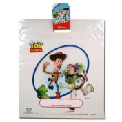 Disney Pixar TOY STORY Woody & Buzz Lightyear CLEAR Zip-Lock STORAGE BAG or Gift Bag