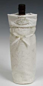 White Lace and Promises 50th Wedding Anniversary Bag for Wine, Champagne or Gift
