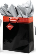 Polished Bits Super Jumbo Gift bag - Black/Red - Black/red