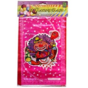 Childrens Party Bags - Clown Design - 12 bags per pack