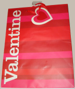 18cm X 23cm Valentine Gift Bag with Attached Mini Card