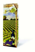 Wine Bottle Gift Bag - Buon Appetito! Lovely Vineyard Image