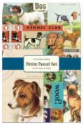 Cavallini 12-Pack Petite Vintage Dogs Parcel Set