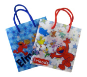 Elmo and Friends Gift Bags - Small 6 Piece GiftBag Set