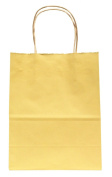 Premier Packaging AMZ-204001 15 Count Colours on White Shopper Gift Bag, 13cm by 21cm , Ivory