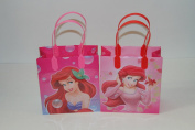 12PC DISNEY ARIEL LITTLE MERMAID GOODIE BAGS PARTY favour BAGS GIFT BAGS