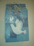 11 Christmas Holiday Dove of Peace Bags