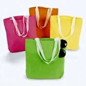 ~ 12 ~ Cotton Tote Gift Bags ~ 28cm X 32cm ~ Assorted Colours ~ New