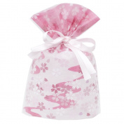 Gift Mate 21021-9 9-Piece Drawstring Gift Bags, Small, Non-Woven Blossom