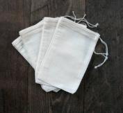 Cotton Muslin Bags 10cm x 15cm 100 Count Pack