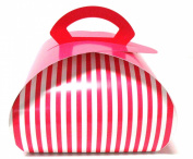 Boston International Progress Luv2pak Take Away Gift Box, Pastry Pink, Medium, 14cm X 21cm , 10 Count