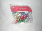 Merry Brite Holiday Bows, 12 Count