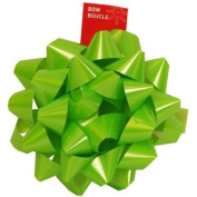 Super Giant Bow in Lime Green - 23cm Diameter - sold individually