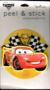 Lightning McQueen Peel & Stick Adhesive Gift Trim - Hallmark Expressions Disney Pixar Cars Series