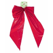 12/PACK HOLIDAY TRIMS 7257 GIANT RED BOW 46cm X 80cm X 23cm