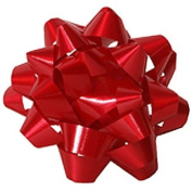Small Red Bows - 8.9cm Diameter - bag of 12 bows