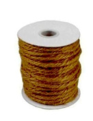 8.9cm mm X 25 Yards Burlap Jute Rope Twine - Choose From 8 Colours