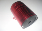 5mm x 250m Red Metallic Curling Ribbon
