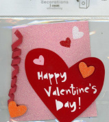 Happy Valentine's Day Self-adhering Package Decoration