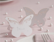Ginger Ray Butterfly Laser Cut Place Cards X 10