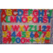 Magnetic Letters And Numbers : package