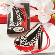 Designer Shoe Luggage Tag Favours