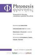 Phronesis No. 18 [ITA]