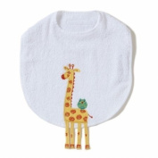 Giraffe Funny Friends Bib by The Little Acorn