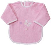 Easy Baby 362-85 Bib with Sleeves Terry Cloth