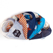 Lovjoy Bandana Bibs - Pack of 5 Boys Designs