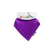 Dribble-Ons Bandana bib - Bright Grape/Purple - ** 3 PACK *.