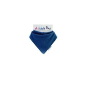 Dribble-Ons Bandana Bibs - Navy Blue - ** 3 PACK *.