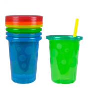 Tomy 296ml Straw Cup