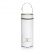Eco Leather Bottle Holder Cream