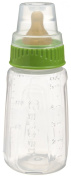 First Essential Clear View BPA Free Plastic Nurser With Latex Nipple, 150ml, Single Pack,Colours May Vary