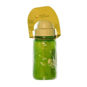 Green Sprouts, Aqua Bottle, Stage 3/4+, 6+ Months, 10 oz (300 ml) Green Bottle